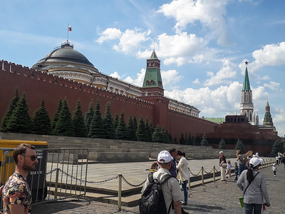 Lenin's Mausoleum in the Moscow Krelim