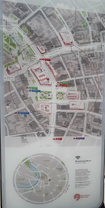 Map of Revolution Square in Moscow