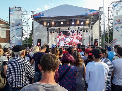 Russia Day -- Novosibirsk
