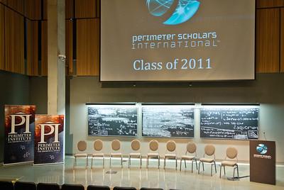 PSI graduation stage