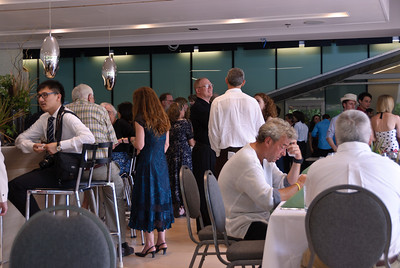 Graduation reception in the bistro
