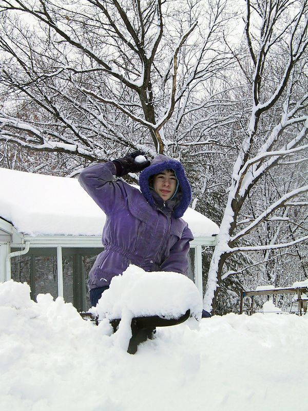 <b>Beth throws snow at her mother</b>   (Mar 10, 2001, 10:01am)