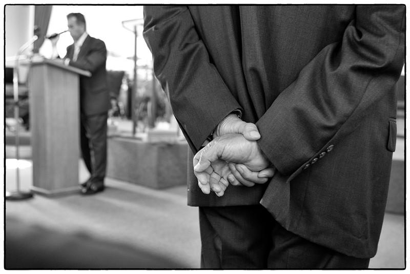Hands of the Pastor