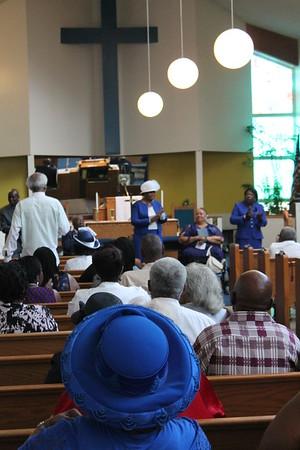 Bethel Baptist Church's 80th anniversary service