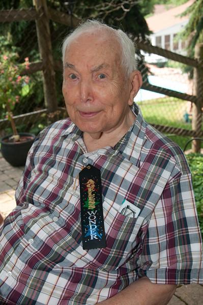 "The ""ageless wonder"" Irv Sallach."