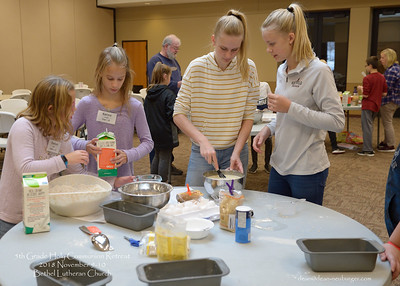 5th Grade Holy Communion Retreat, 2018 November 9-10, Bethel Lutheran Church, Northfield, Minnesota USA