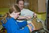 Gary & Elizabeth make spazel.