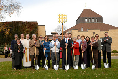 Ground Breaking for Bethel Lutheran Church Expansion, 2007 November 09,