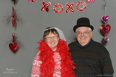 Bethel Lutheran Church Valentines Dinner, 2019 February 10.