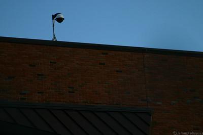 A closer view of the construction webcam