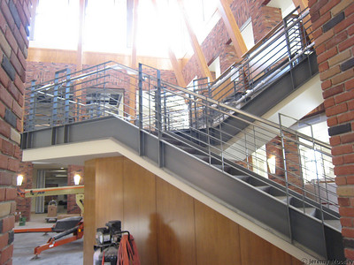 Dining center stairwell
