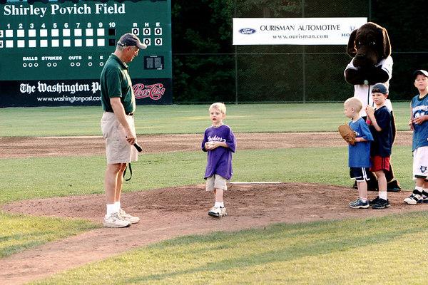 Bethesda Big Train vs. Rockville Express, Povich Field, 6/17/05