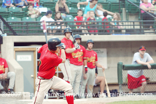 Big Train vs. College Park Bombers, Povich Field, 6/14/06