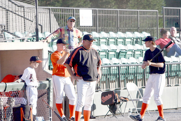 Big Train vs. Youse's Orioles, Povich Field, 7/23/06
