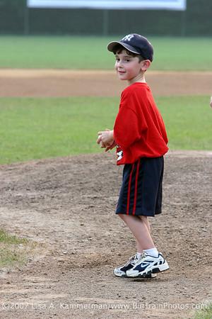 Bethesda Big Train vs College Park Bombers, Shirley Povich Field, 6/27/07