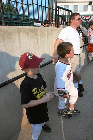 Bethesda Big Train vs Herndon Braves, Shirley Povich Field, 7/26/07