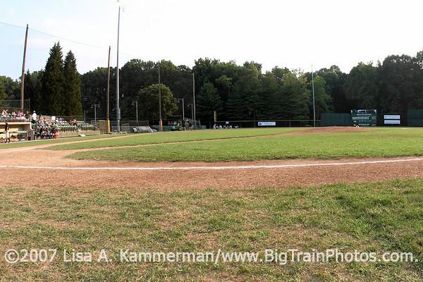 Bethesda Big Train vs Youse's Orioles, Shirley Povich Field, 7/7/07