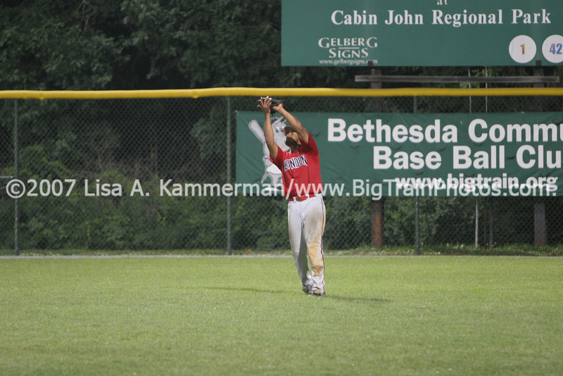 Bethesda Big Train vs Herndon Braves, Shirley Povich Field, 7/19/08