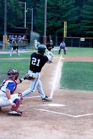 Bethesda Big Train vs Rockville Express, Shirley Povich Field, 8/3/07, Cal Ripken Sr Collegiate Baseball Championship Game