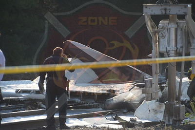 Bethpage F.D. Plane Crash 1000 South Oyster Bay Rd.  8/16/15
