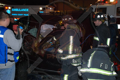Bethpage F.D. Stewart Ave. MVA with Entrapment 11/2/08