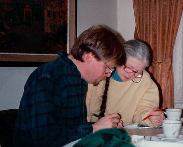 1993 NYT crossword w/son-in-law Eric Beckman