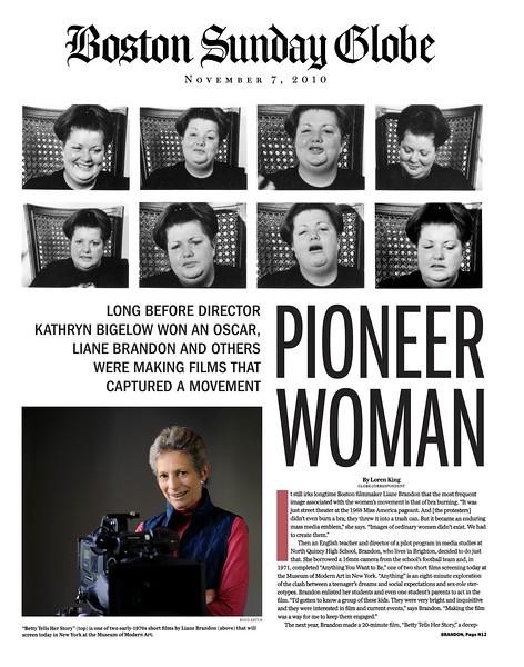 Betty Tells Her Story, Boston Globe, 2010, 1