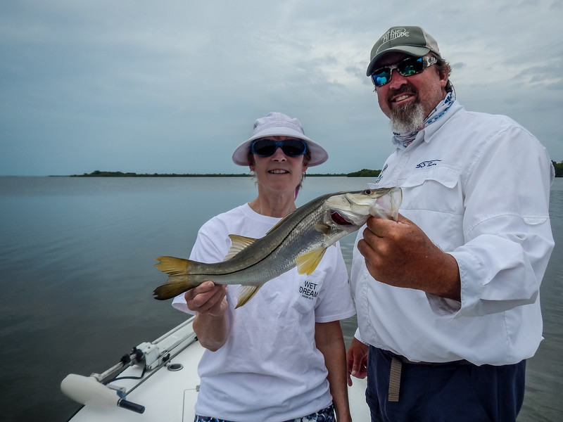Denise and Jerry Fishing Trip