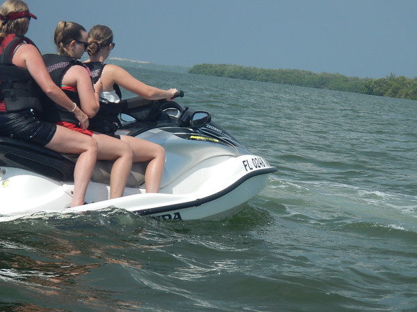 Jet Skiing with the Fennell girls
