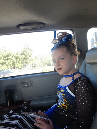Mac before Cheer Competition