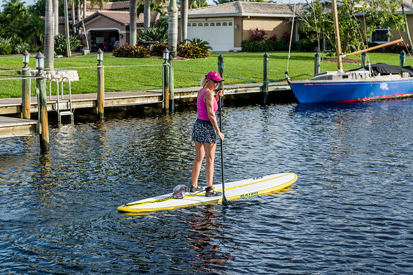 Betty Jo Paddleboard First Ride