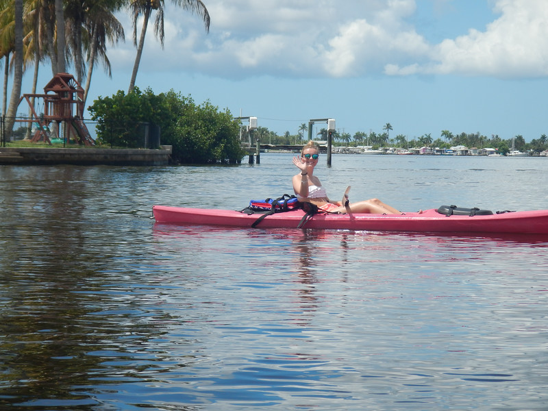 Kayaking with Jeanette & Julia 5/27/16