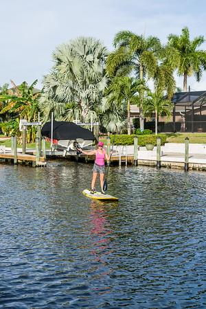 Betty Jo Paddleboard First Ride