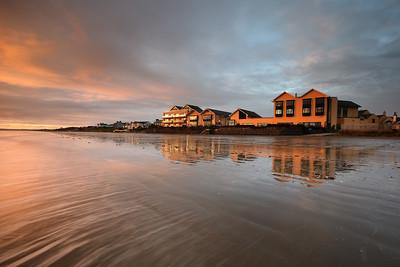 Winter's Sunrise at Bettystown Beach-1L8A1607