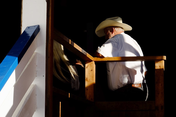 Pulling Ring. Fryeburg, ME. Late afternoon light at the fair.