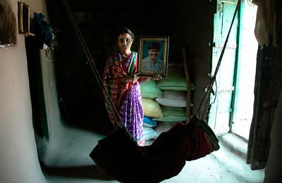 Savita Praveen Chaudhari, 30, Village Vai