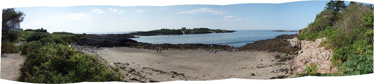 Panorama at low tide