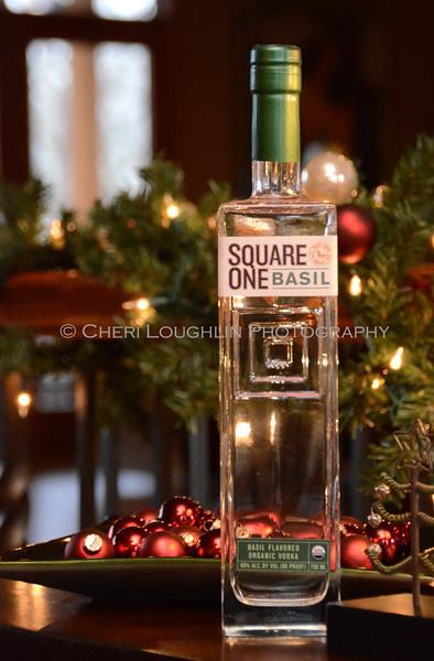 Square One Basil Vodka - Cheri Loughlin Wine & Spirits Stock Photography