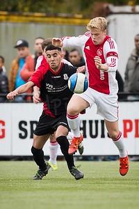 24-10-2015: Voetbal: Alexandria '66 A1-Ajax A2: Rotterdam