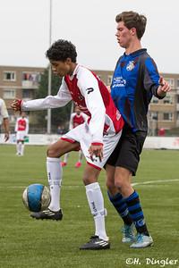 02-04-2016: Voetbal: Alexandria '66 B2 v Jonge Spartaan B1: Rotterdam