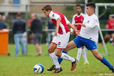 12-09-2015: Voetbal: Alexandria '66 B2-Leonidas B1