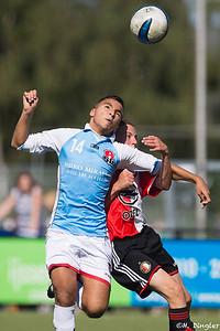 29-08-2015: Alexandria '66 B2-SC Feyenoord B2: Rotterdam