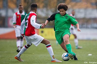 14-11-2015: Voetbal: Alexandria '66 B2 v SVV B1 : Rotterdam