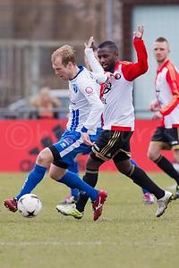 19-03-2016: Voetbal: SC Feyenoord v BVCB: Rotterdam Amateurs zaterdag 2e klasse Seizoen 2015/2016