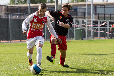 03-09-2016: Voetbal: Alexandria '66 O19-2-Excelsior Rotterdam O19-2 Seizoen 2016/2017