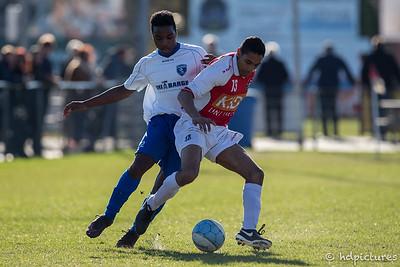 25-03-2017: Voetbal: Alexandria'66 O19-2v CVV Zwervers O19-1: Rotterdam Seizoen 2016/2017