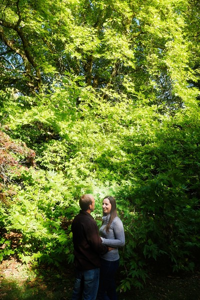 green engagement picture