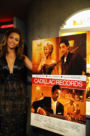 "Beyonce Red Carpet Arrival for ""Cadillac Records"" NYC Premiere"