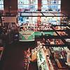 On the Bus at Milwaukee Public Market : Milwaukee Cityscape Medium Format Color Film