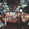 City Clock at Milwaukee Public Market : Milwaukee Cityscape Medium Format Color Film